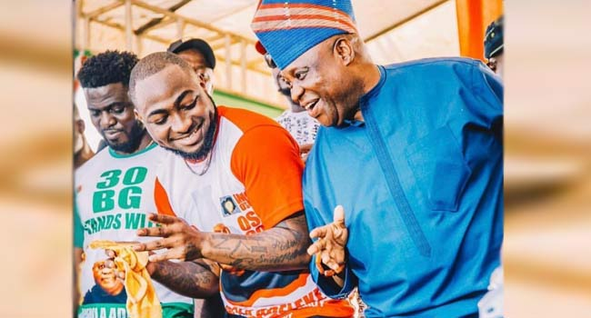 Osun: 'Davido's Uncle Has Danced His Way To Victory' – Nigerians React