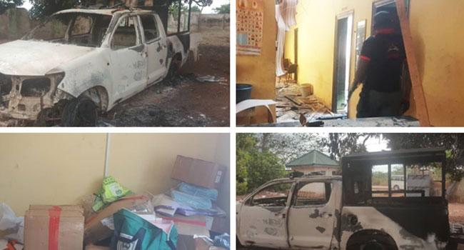 DPO, Three Others Killed As Gunmen Attack Edo Police Station, INEC Office