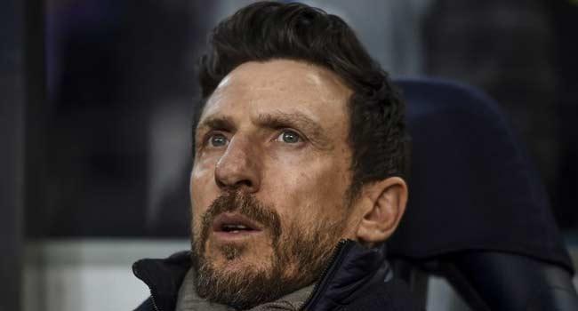 Roma Sack Coach Eusebio Di Francesco