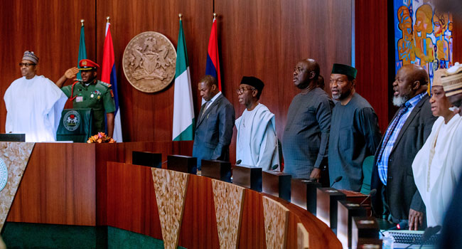 The Federal Executive Council (FEC) approves increase in VAT rate from 5% to 7.2%