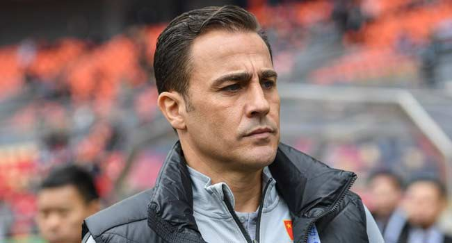 Cannavaro Under Pressure As China Coach After Second Defeat