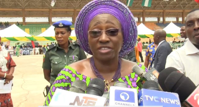 'We Will Name, Shame Delegates Of Sexual Offenders', Fayemi's Wife Warns