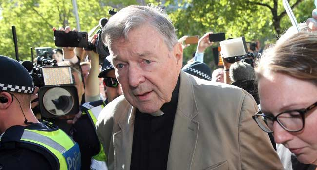 Convicted Australian Cardinal To Be Sued Over Alleged Abuse