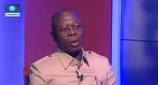 Senate Presidency: I Can't Appoint Or Impose Anyone On The Senate – Oshiomhole