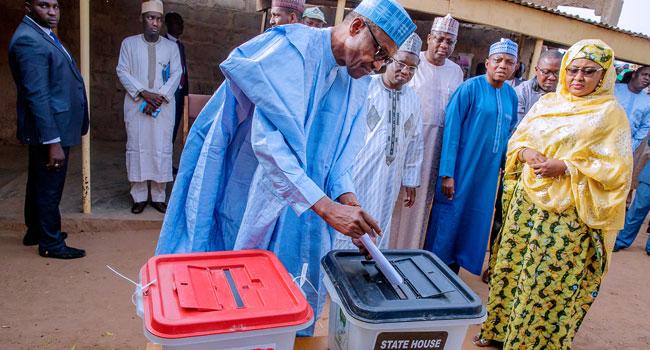 Governorship Election: Buhari Votes In Daura