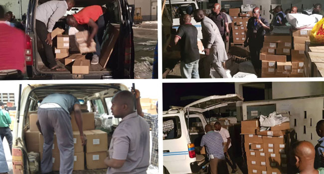 PHOTOS: INEC Commences Distribution Of Sensitive Materials Across States