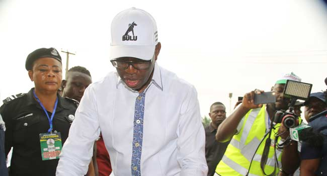 I Will Win, Governor Okowa Says After Voting In Delta
