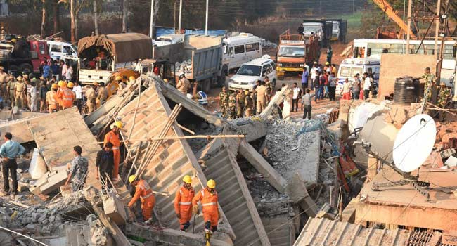 Three Rescued Days After Indian Building Collapse