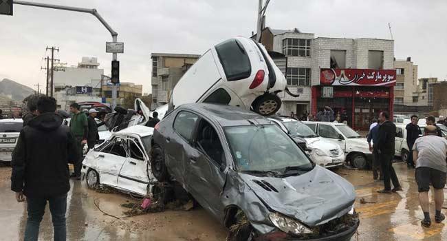 18 Killed As Floods Ravage Iran Provinces