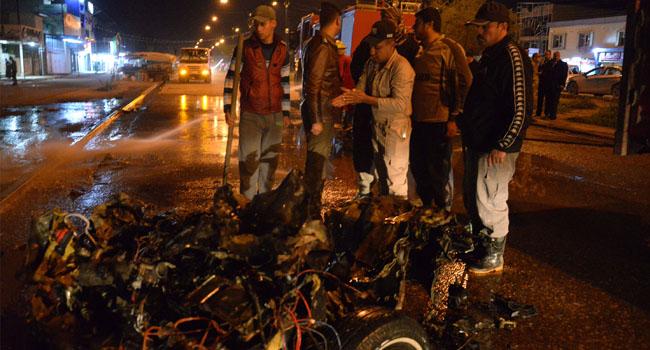 Two Killed In Car Bomb Attack In Iraq's Mosul