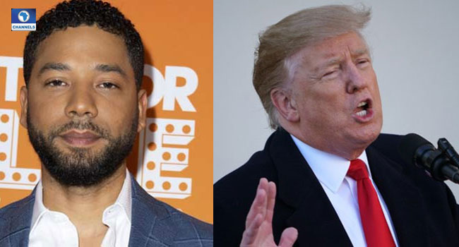 'FBI, Justice Department Will Review Jussie Smollett's Case, Says Trump'