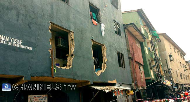 State Govt Commences Demolition Of Marked Buildings In Lagos Island