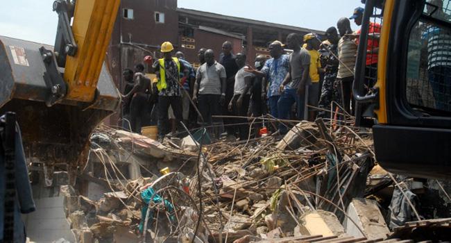 Lagos Building Collapse: A Black Wednesday At Ita Faji