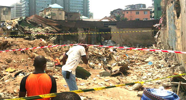 Police Launch Investigation Into Lagos Building Collapse