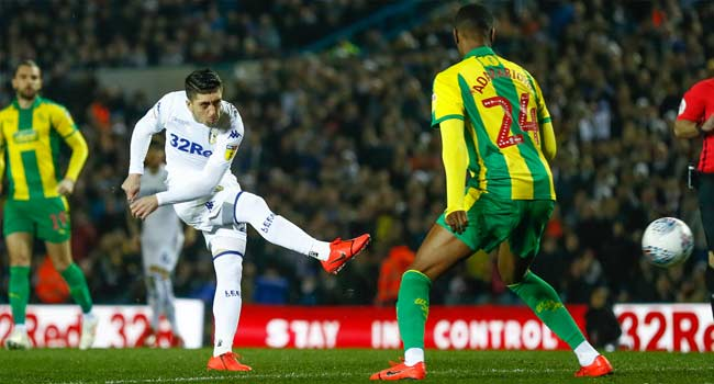 Four-Goal Leeds Return To Top Spot In English Championship