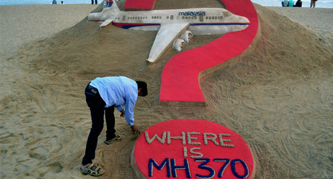 A timeline of the search for MH370