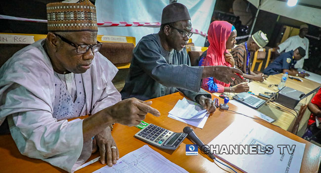 PHOTOS: Collation, Declaration Of Results Continue Into The Night