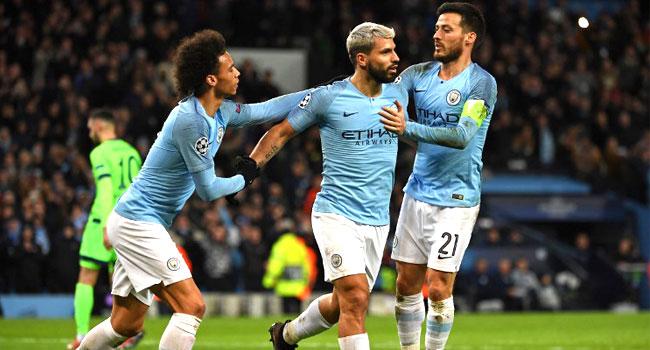 Man City Thrash Schalke To Reach Champions League Quarter Finals