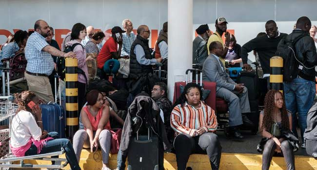 Hundreds Of Travellers Stranded In Kenyan Airport As Workers Strike