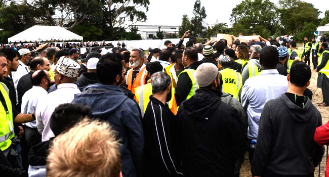 Thousands March For New Zealand Attack Victims
