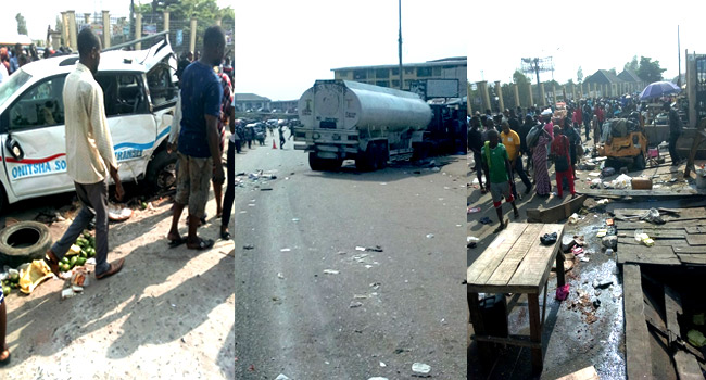 Anambra Accidents: A Day Of Anguish In Onitsha And Umuchu