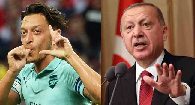 Ozil Slammed For Reportedly Inviting Erdogan To His Wedding
