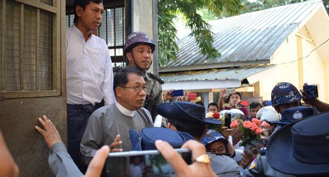 Myanmar Court Jails Rakhine Leader 20 Years For Treason