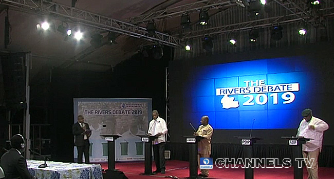 Wike Absent As Three Rivers Gov Candidates Defend Their Plans