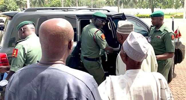 Security Chiefs Keep Mum After Meeting With Buhari