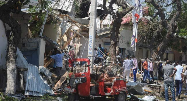 15 killed as Somalia bomb hits restaurant at lunchtime