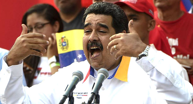 US To Indict Maduro For 'Narco-Terrorism'