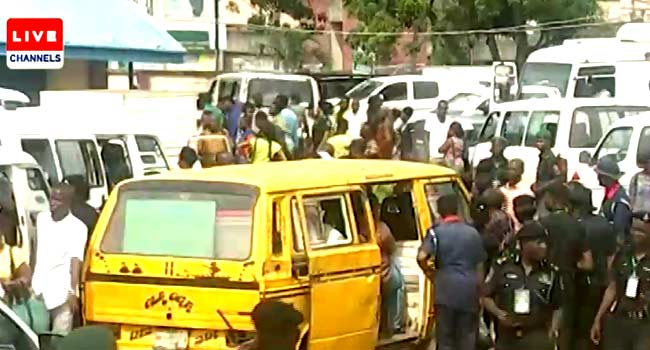 Voters In Parts Of Lagos Wait For More Than Seven Hours To Cast Their Ballots