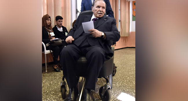Algerian Army Chief Wants Bouteflika Declared Unfit To Rule