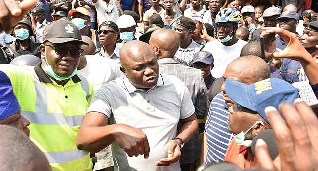 Building Collapse: Ambode Urges Residents To Allow Rescue Operations