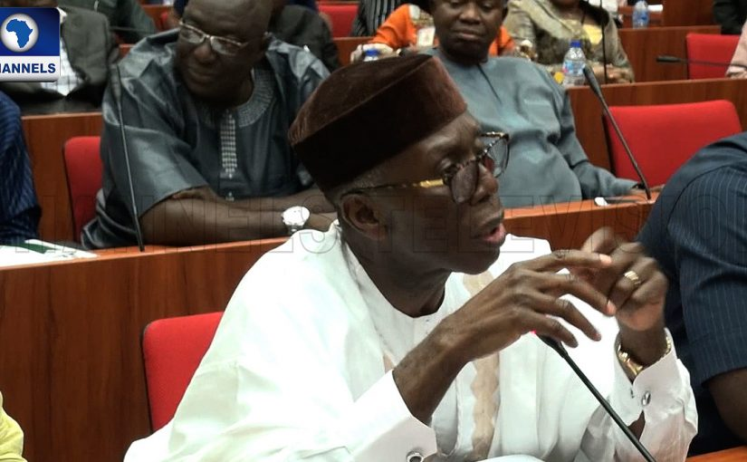 'They Have Taken Us Hostage': Agric Minister Decries Nigeria's Rate Of Food Imports