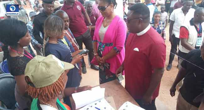 PHOTOS: Governor Ayade, Wife Vote In Cross River