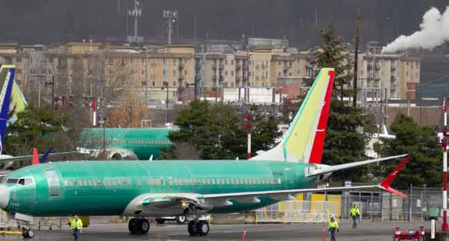 Boeing Says Working With Regulators For Return Of 737 MAX