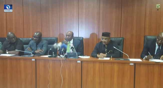 Emefiele, Three Governors Discuss How To Boost Palm Oil Production