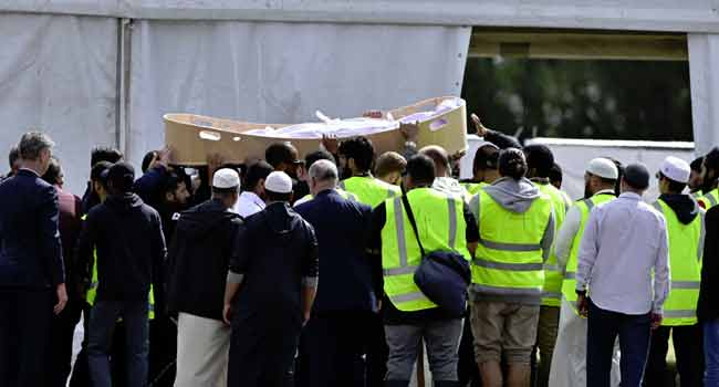 New Zealand Buries Syrian Father, Son Killed In Mosque Attack