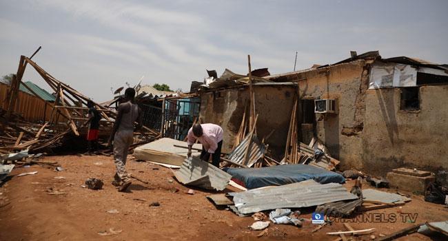 PHOTOS: Storm Wreaks Havoc In Parts Of Abuja