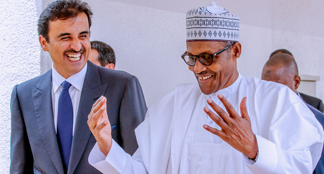 Buhari Woos Qatar On Investments In Refineries, Power, Economy