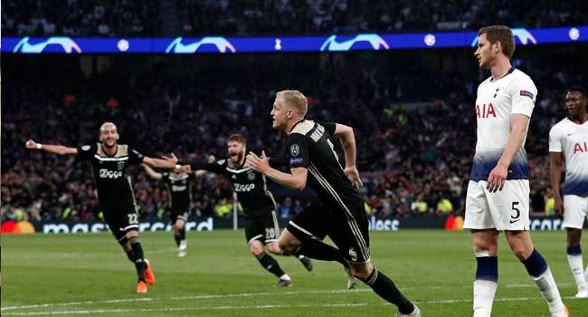 Champions League: Ajax Beat Tottenham In London