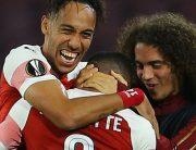 Arsenal Beat Napoli, Qualify For Europa League Semis