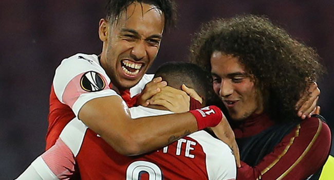 UPDATED: Arsenal Beat Napoli, Qualify For Europa League Semis