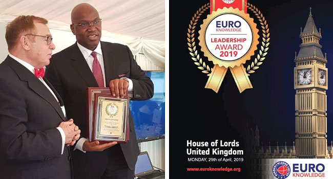 John Momoh, Others Receive Prestigious EuroKnowledge Award In London