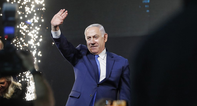 Gantz concedes; Israeli PM Netanyahu secures 5th term