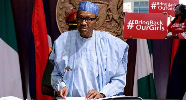 Chibok: We Will Never Give Up On Our Missing Daughters – Buhari