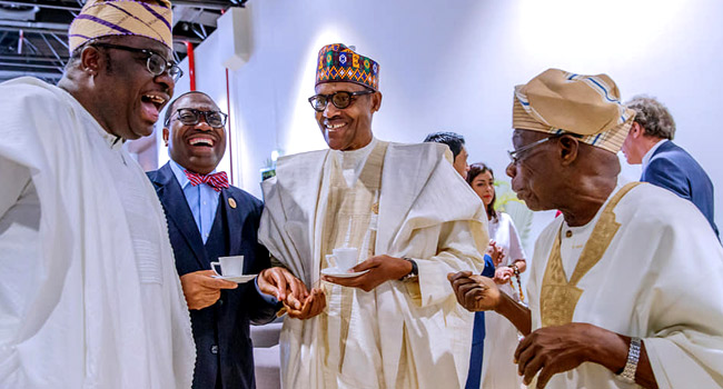 Buhari, Obasanjo Meet In Senegal For First Time Since Elections