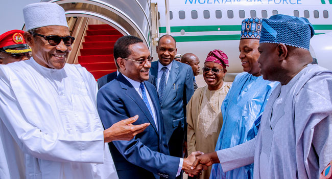 Buhari Attends Security Meeting In Chad