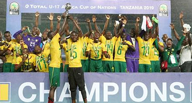 U17 Nations Cup: Cameroon Beat Guinea 5-3 On Penalties To Be Crowned Champions